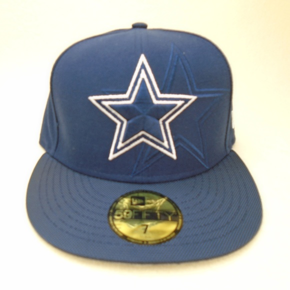 8a529010874 NEW Dallas Cowboys New Era 7 NFL Football Fitted